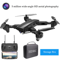 Drones FN With Camera H13 5MP 1080P Wide Angle WIFI FPV HD Camera Foldable RC Drone Quadrocopter With Camera HD remote aircraft