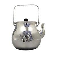 Ev ve Bahçe'ten Çaydanlıklar'de Demlik  paslanmaz çelik demlik  gümüş çaydanlık  demir demlik  sıcak su çaydanlık  çaydanlık 750 ml su  kung fu çay seti.