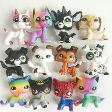 Много видов новых домашних животных Коллекция кошка собака ребенок девочка фигура милые игрушки Свободные
