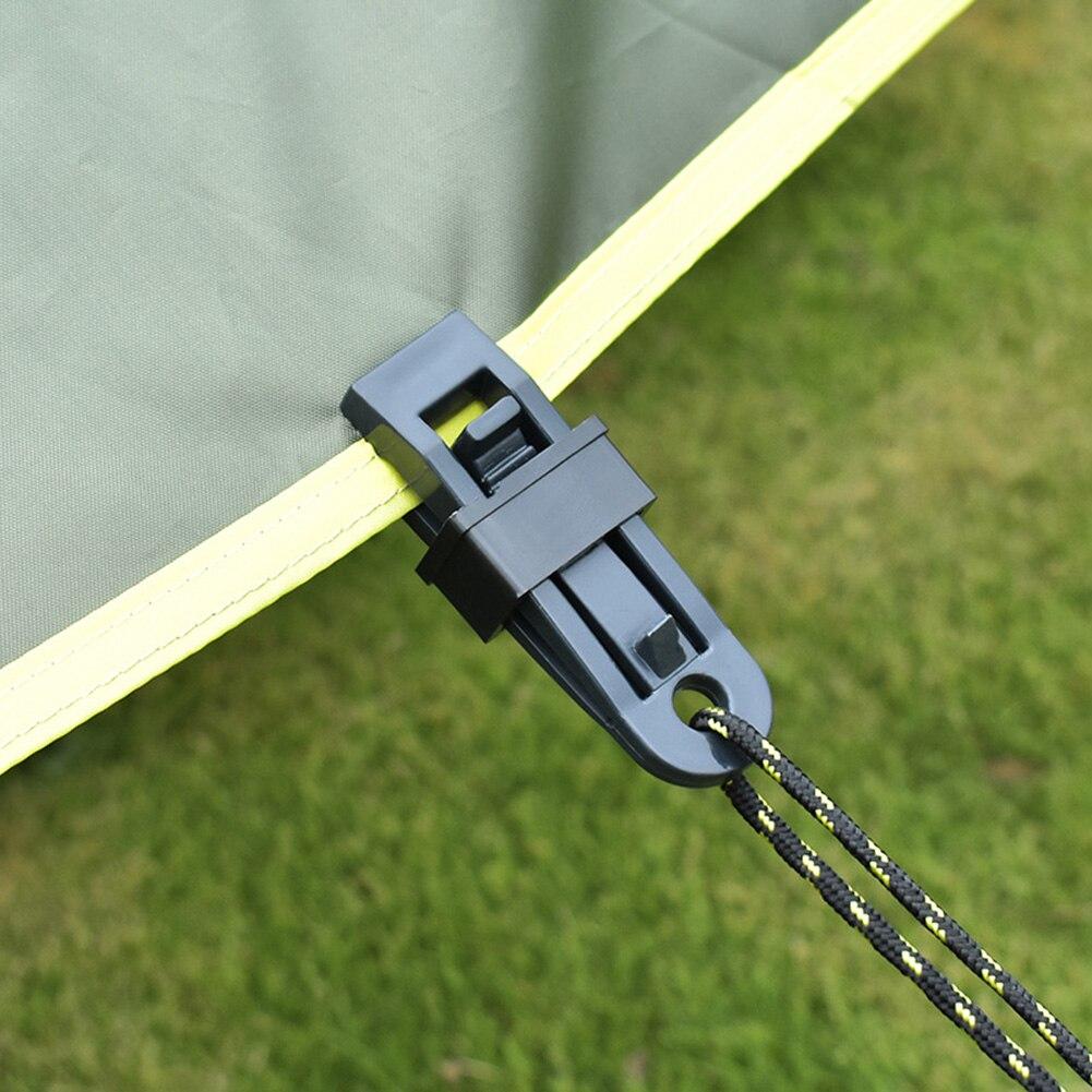 10 шт. тенты навесные зажимы для крепления тентов ветрозащитная Крышка для альпинизма аксессуары для кемпинга
