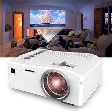 Видео конференц-камера пико-проектор 1080P HD светодиодный домашний мультимедийный кинотеатр USB AV TF HDMI мини-проектор