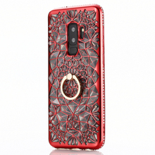 Luxury Shockproof Phone Case For Samsung S8 Case Samsung S9 S7 Finger