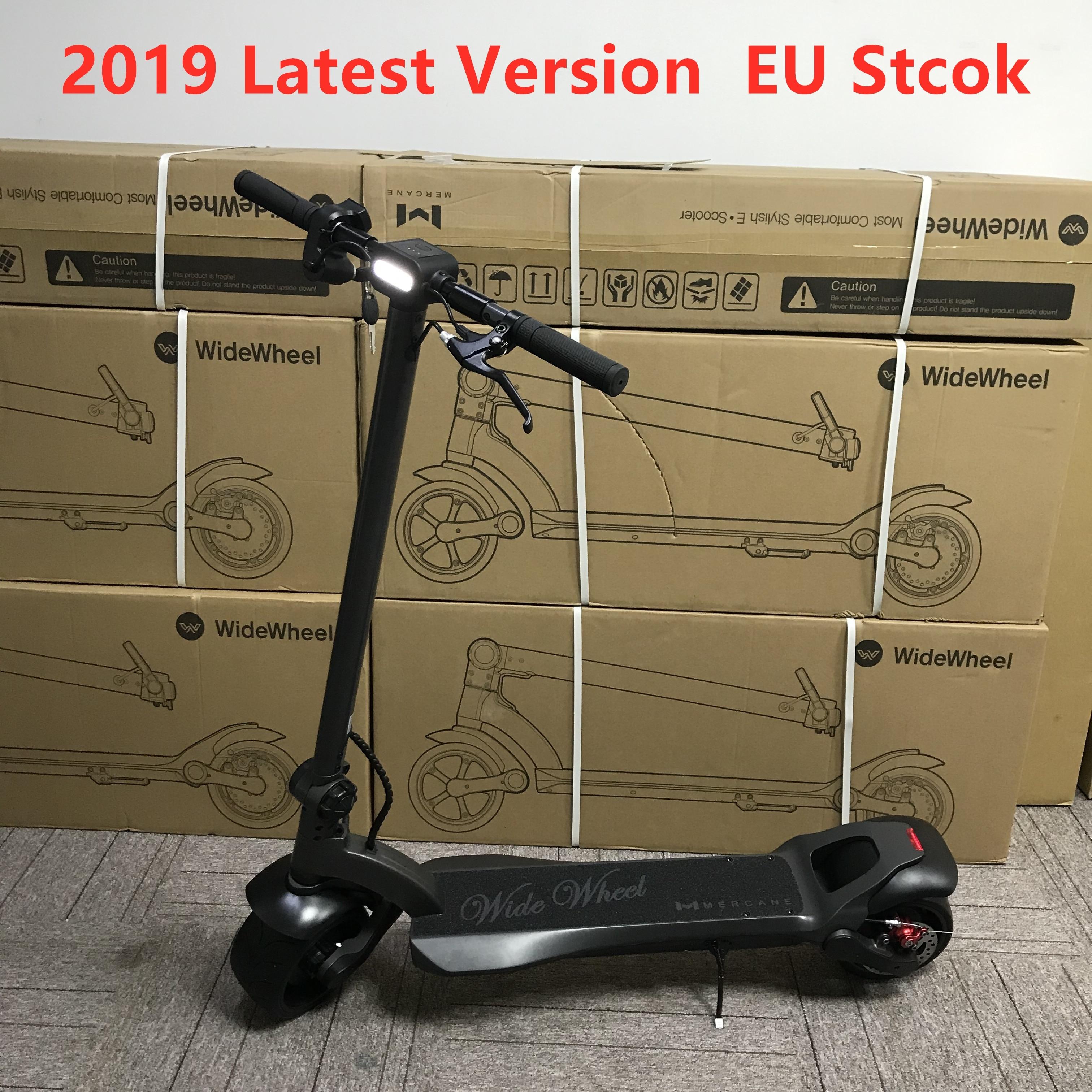 EU Stock 2019 dernière Mercane WideWheel Kickscooter 48V 500 W/1000 W double moteur intelligent Scooter électrique large roue 45 KM/H Hoverboard