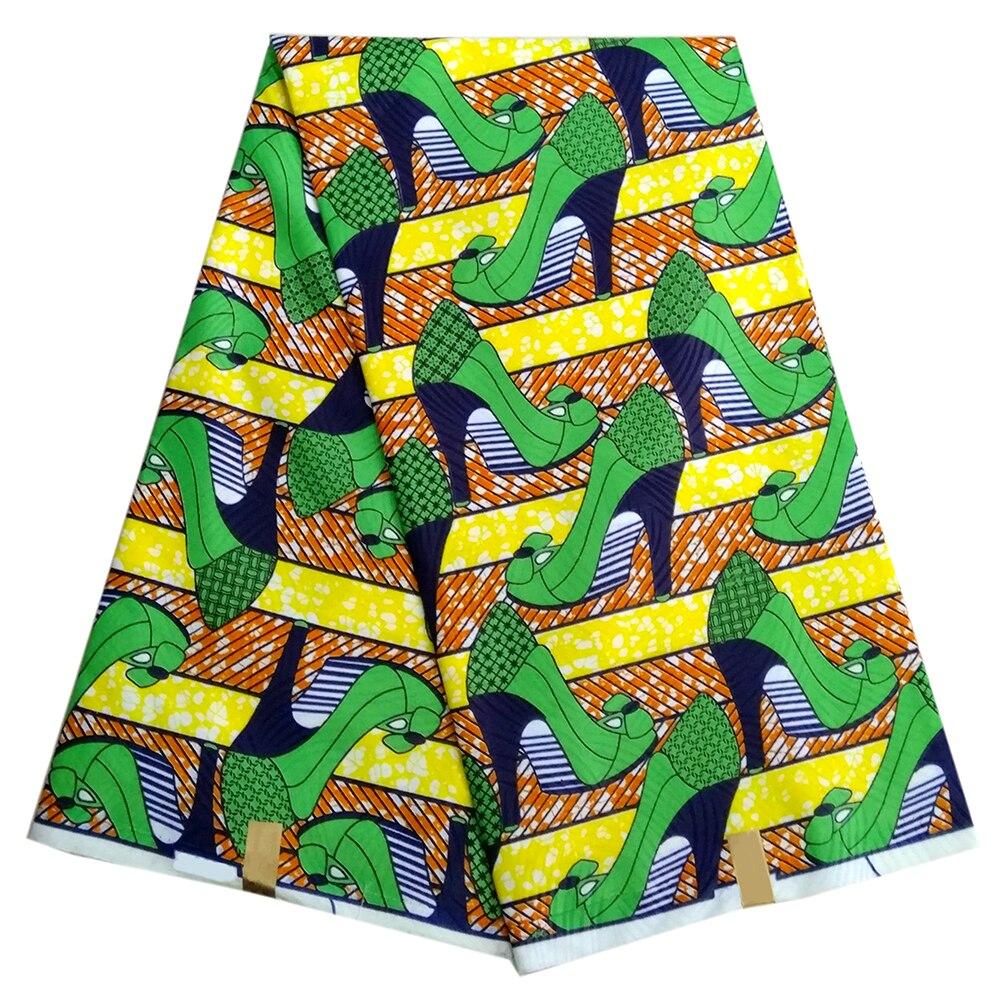 Hot Selling 6 Yards 100% Cotton Dutch Wax Fabric African Wax Dutch Wax For Wedding Dress