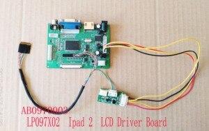 Плата драйвера 9,7 дюйма для ЖК-дисплея IPAD 1/2/3/4/5 LVDS EDP, 2K драйвер, сенсорный экран 9,7 USB, дигитайзер LP097QX1/2 LTN097QL01