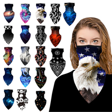 1Pc 3D Printing Magic Scarf Multi-function Half Face Mask Neck Cover Scarf Anti-UV Cycling Bandana Outdoor Sports Headwear 2020