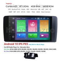 Android 10 4G 64G car GPS For Mercedes Benz ML GL W164 ML350 ML500 GL320 X164 ML280 GL350 GL450 radio stereo navigation NO DVD
