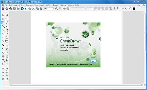 ChemDraw Pro v18.0.0.231 专业化学绘画工具免费版