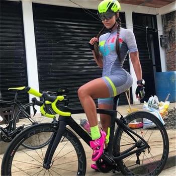 Fresi aero terno triathlon triathlon terno de corrida ao ar livre terno ciclismo skinsuit pro equipe feminino macacão triatlon hombre kit 1