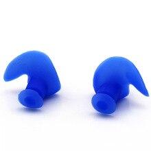 Мягкие и удобные профессиональные Защитные Водонепроницаемые силикагелевые беруши для плавания для детей, взрослых мужчин и женщин