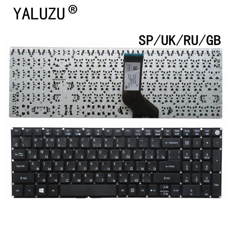 RU/REINO UNIDO/SP/GB teclado Do Portátil PARA Acer Aspire E5-573 E5-573T E5-573TG E5-573G E5-722 E15 E5-582P 507H 56AV 507H 54G6 F5-572