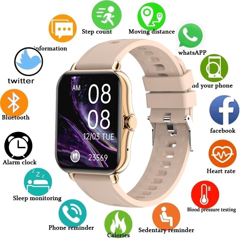LIGE новые электронные часы из нержавеющей стали часы женские спортивные часы электронные светодиодный женские часы водонепроницаемый Bluetooth...