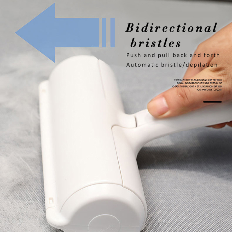 Household washable wool roller pet epilator dog cat comb tool for easy cleaning of dog cat hair brush base furniture sofa clothe