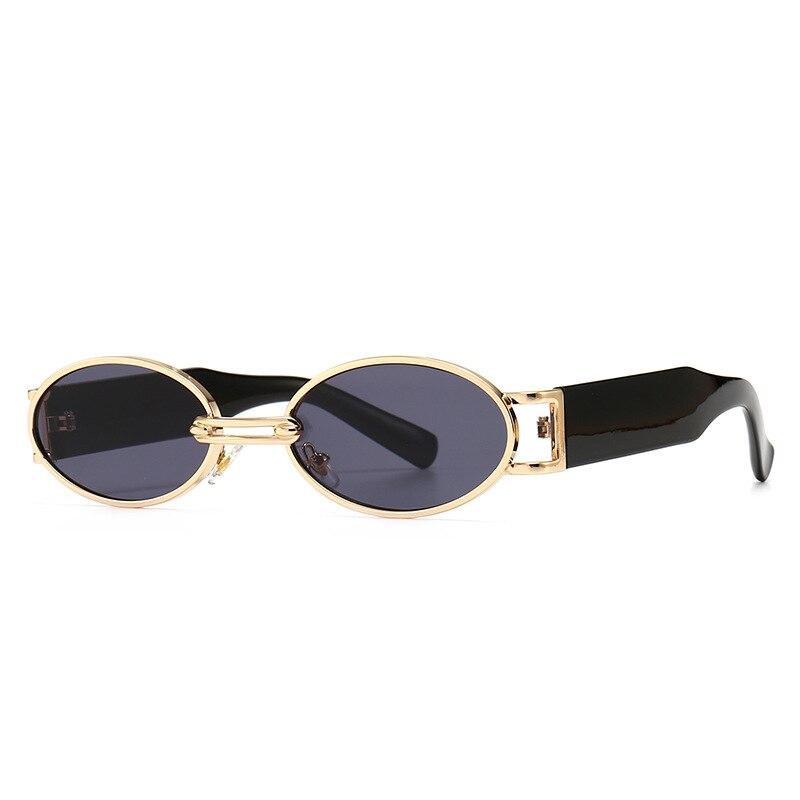 Солнцезащитные очки в стиле стимпанк для мужчин и женщин, винтажные маленькие круглые модные роскошные ретро-очки, 2020