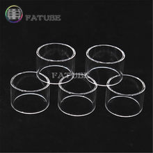 5pcs FATUBE Rechte glazen Sigaret Accessoires voor Aspire Cleito 120 Pro 3 ml/Eleaf Melo 4 D25 4.5 ML/GeekVape Ammit 25 RTA 2ml(China)