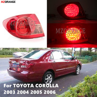 1PCS LED Tail Light Tail Lamp Taillight Taillamp Taillights Stop Lamp Light For TOYOTA COROLLA 2003 2004 2005 2006