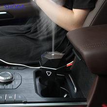 SHODA Car Air Humidifier Essential Oil Aroma Mist Diffuser Car Perfume USB Portable Auto Mist Maker Fogger Diffuser