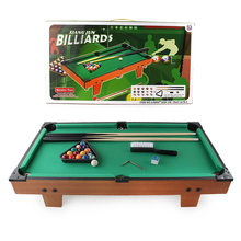 Children Creative Model American-Style Small Table Billiards Parent And Child Casual Entertainment Battle Indoor Tabletop Toys G(China)