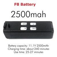 Original f8 4 pces hélices acessórios da lâmina peças de reposição 2800mah bateria alta qualidade