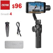 Zhiyun Smooth 4 3 Trục Điện Thoại Thông Minh Gimbal Ổn Định Cho Iphone 11 Pro XS XR X 8P Samsung s10 S9 S8 & Các Dòng Điện Thoại Thông Minh
