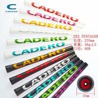 13pcs/lot Golf clubs grips standard CADERO 2X2 PENTAGON Golf grips High quality rubber Golf irons wood grips 10 colors