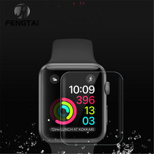 2PCSTPU Soft Full Coverage Protective Film for Apple Watch Series 3 2 1 38mm 42mm Screen Protector Cover стоимость
