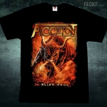 ACCEPT-Blind Rage-heavy metal band-Sabaton-Helloween  T_shirt-sizesS to 7XL