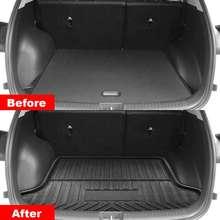 Revestimiento de maletero de coche, bandeja para cubierta de maletero, estera mate, alfombra de suelo, Kick Pad para Hyundai Creta ix25 2015 2016 2017 2018 2019