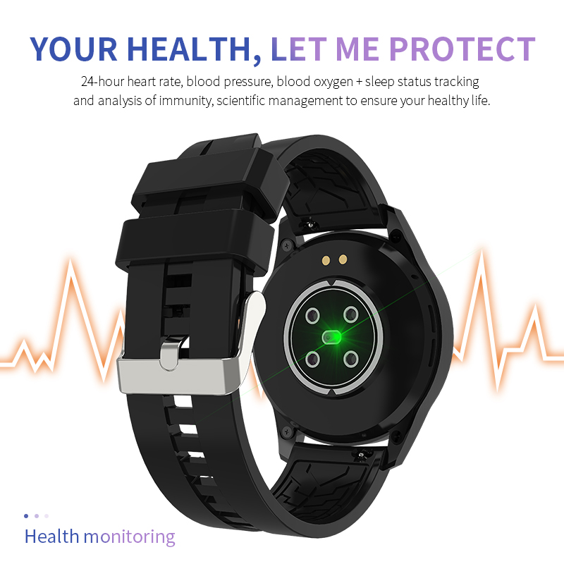 cheapest LIGE 2020 New Smart Watch Men Heart Rate Blood Oxygen Social APP Message Reminder Waterproof Sport Full Touch Screen smartwatch