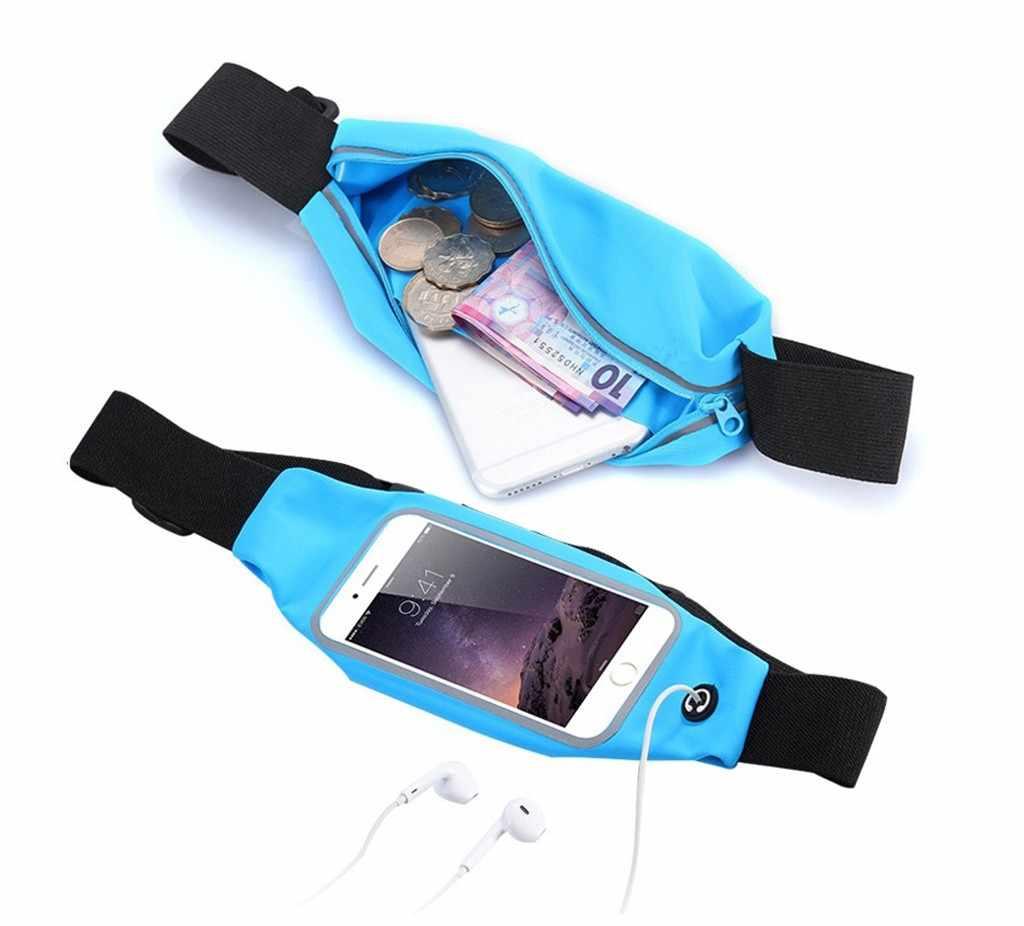 درب تشغيل جديد المشي حقيبة قاعة رياضة الرجال والنساء في الهواء الطلق تشغيل أكياس حزام سستة جراب هاتف للهاتف المحمول الحقيبة حزمة # PEX