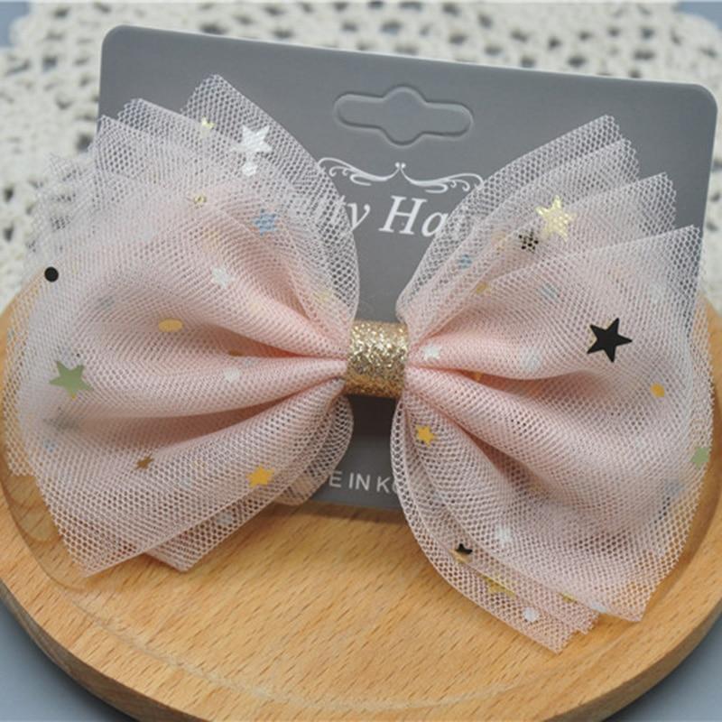 12PCS Kids Hairpins Bowknot Cute Hair Clip Hair Accessories for Baby Girls Kids