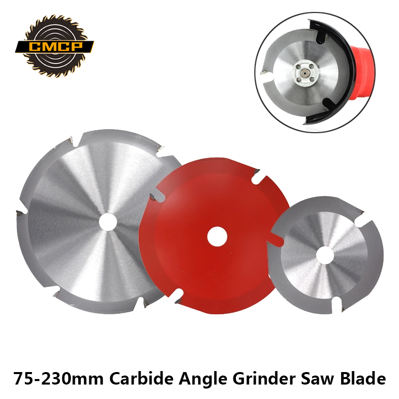 CMCP 75/100/115/150/180/230mm Multifunction Circular Saw Blade For Angle Grinder Saw Disc Carbide Cutting Disc For Wood