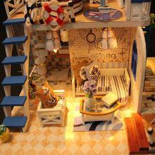 Кукольный дом blue coast «сделай сам» светодиодный светодиодсветильник