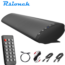 Rsionch Home Theater Wireless Bluetooth Speakers Computer TV Sound Bar Subwoofer Speaker+Remote Support RCA AUX TF USB OPT input