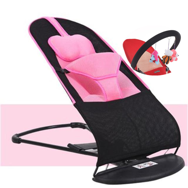 The Baby Rocking Chair Soothes The Reclining Chair To Sleep And The Baby Takes The Baby To The Cradle Bed For Newborn Children