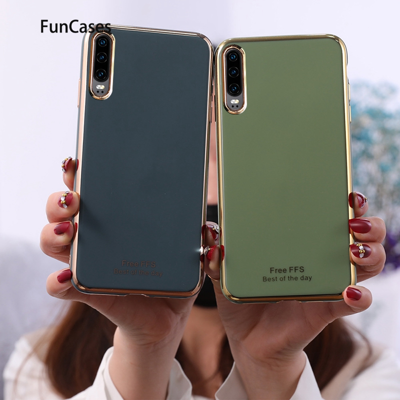 Newest <font><b>Smartphone</b></font> Case Covers For <font><b>Huawei</b></font> P20 Pro Aksesuar Soft TPU Protector <font><b>Huawei</b></font> Ascend P20 Plus <font><b>P30</b></font> P40 Nova 3e <font><b>Lite</b></font> Pro image