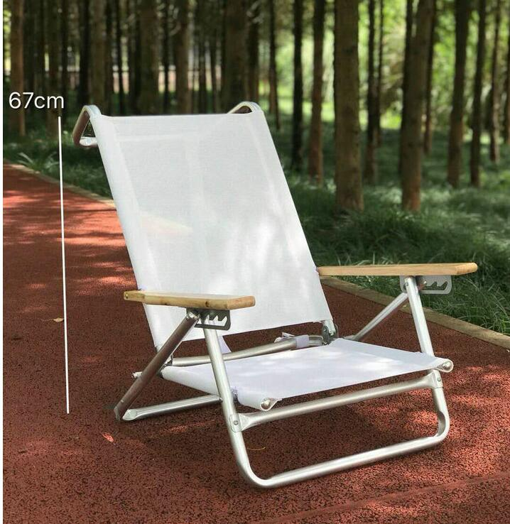 5 Position Folding Beach Chair With Carrying Strap Outdoor Furniture Foldable Leisure Camping Fishing Picnic Chair Lightweight