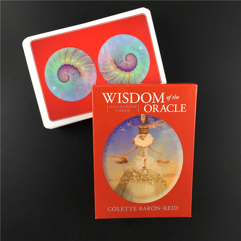 Hot Sell Wisdom  Oracle   Cards Tarot Cards Full English Friend Party Board Game Card  Divination Cards Wholesale