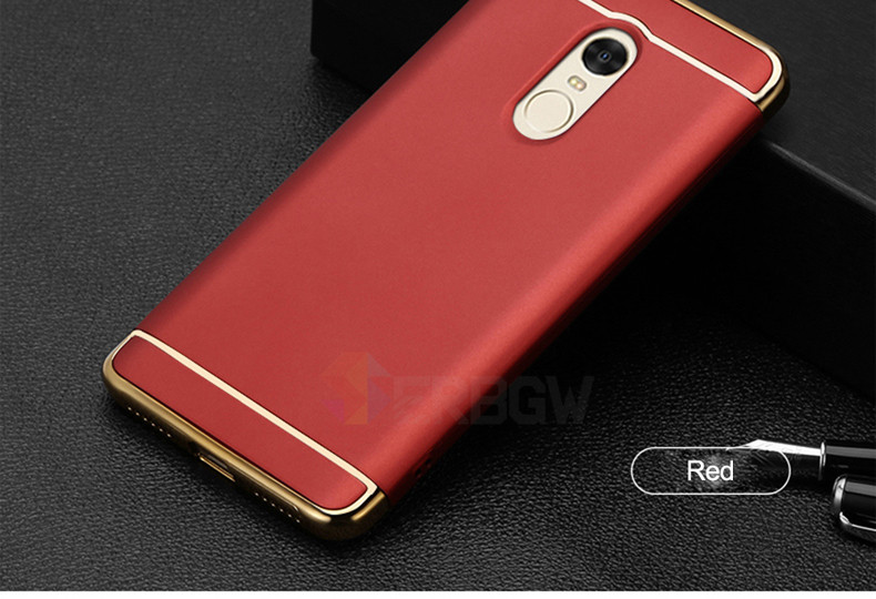 Luxury Hard Case For Xiaomi Redmi Note 4 4X 5A with Full Coverage 16