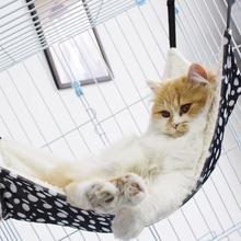 1 шт. гамак-кровать для кошки теплый дом мягкий Ferret домик для отдыха меховая подвесная клетка для кошки мягкие товары для домашних животных