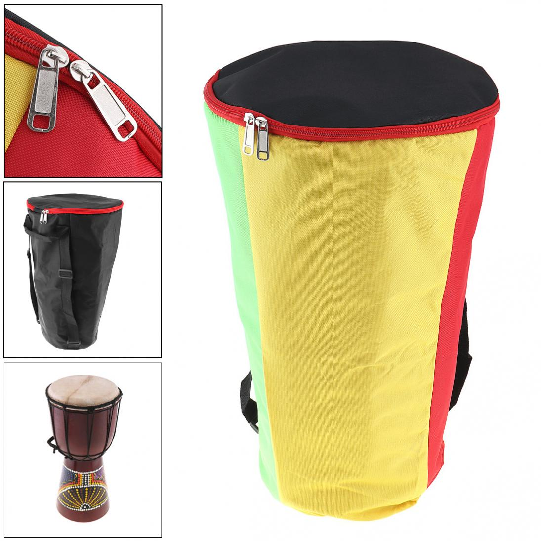 10 Inch Djembe Bag Case Thick Shockproof Waterproof Africa African Drum Bags Tambourine Shoulders Back Package Hot