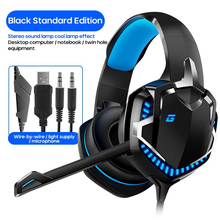 Headsets Wired Game Earphones 7 1 Gaming Headphones Deep bass Stereo Casque with Microphone for PS4 new xbox PC Laptop gamer cheap centechia Dynamic CN(Origin) 105dB None --mW for Video Game Line Type User Manual over 100 Ω 3 5mm Sealed Other --mm 2200Ω