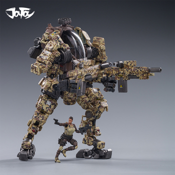 NEW 1/25 JOYTOY action figure STEEL BONE H03 Mecha and military soldier figure model toys collection toy  Christmas present gift [show z store] joytoy source acid rain mecha ht01 iron skeleton transformation action figure