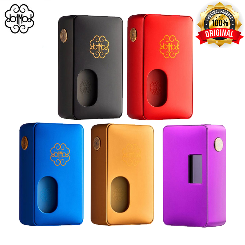 Original Dotmod Dot Mod Squonk 100w Electronic Cigarettes Mod 8ml Capacity Fit 18650 20700 21700 Battery Bypass And Curve Mode