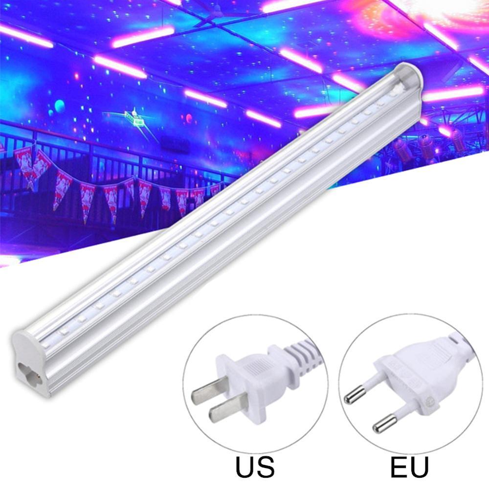 UV LED Black light bar 5w 2ft T5 Integrated Bulb Black Light Portable 30cm Black UV Light Bar LED Strip Lights Party Club DJ Equ