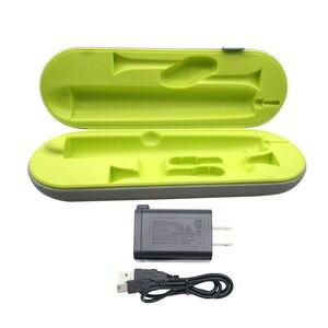 Image 2 - Estuche cargador de viaje con carga USB para Sonicare DiamondClean HX9332 HX9340 HX9350 HX9360 HX9342 HX9382, cepillo de dientes, HX9352