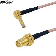 1 pces ms156 plugue macho para sma fêmea teste sonda rg316 cabo leva IP-9