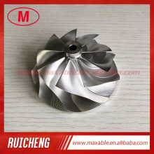 Turbo Compressor-Wheel for 880695-5002S/880700-500 G35-1050 0-Blades-Point Milling Aluminum