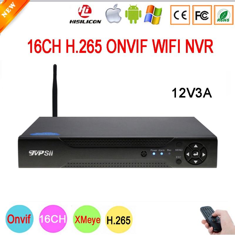 5mp/4mp/3mp/2mp/1mp IP Camera Hi3536D XMeye 5mp Audio H.265+ 16CH 16 Channel Onvif IP WIFI NVR