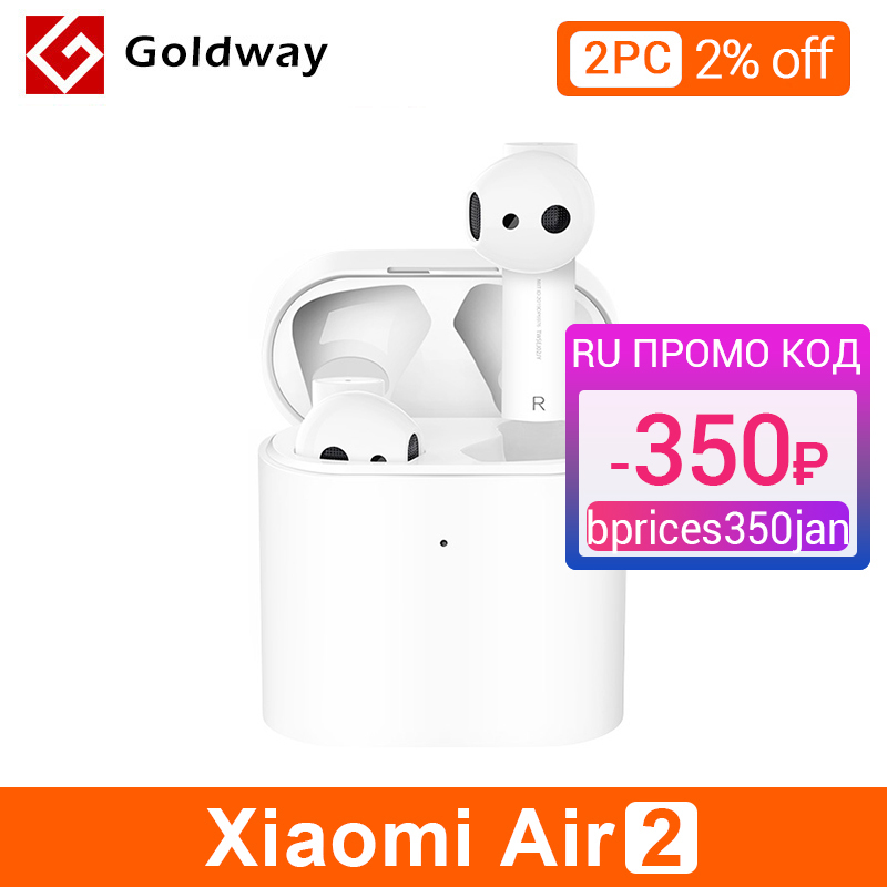 Neue Xiaomi Airdots Pro 2 TWS Bluetooth Air 2 Mi Wahre Drahtlose Kopfhörer 2 Smart Voice Control LHDC Tap Control dual MIC